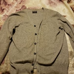 Allsaints cardigan with corduroy elbow patches